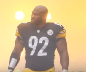 James Harrison on kneeling during national anthem: 'That's up to the individual'