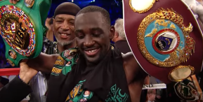 Keith Thurman on Terence Crawford: 'He is going to have to make himself relevant at 147'
