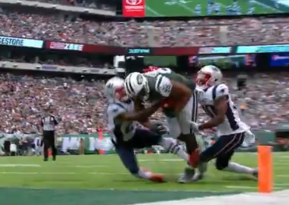 Jets robbed of a touchdown(watch)