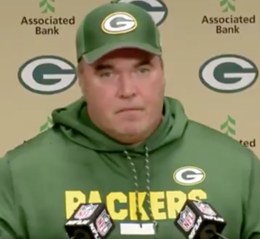 Packers coach Mike McCarthy has no interest in Colin Kaepernick(watch)