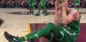 Celtics' Gordon Hayward suffers gruesome leg injury
